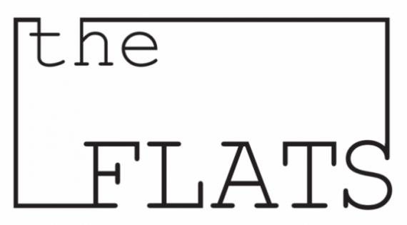 Logo Flats Met Achtergrond